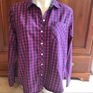 Vineyard Vines Cashmere plaid button down